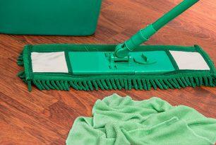 Ползите от почистване с микрофибърен моп