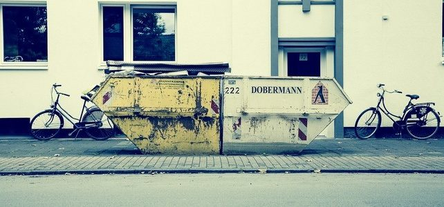 Наемане на контейнери за отпадъци и видове контейнери